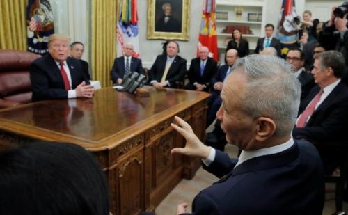 Hôm nay, Tổng thống Mỹ Donald Trump sẽ gặp Phó Thủ tướng Trung Quốc Lưu Hạc