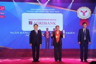 Agribank được vinh danh Thương hiệu mạnh Việt Nam