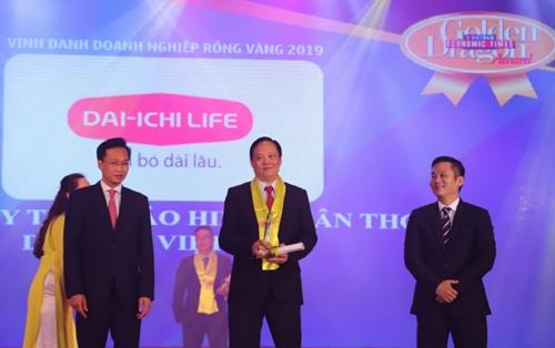 Dai-ichi Life Việt Nam đạt danh hiệu Công ty bảo hiểm nhân thọ tốt nhất