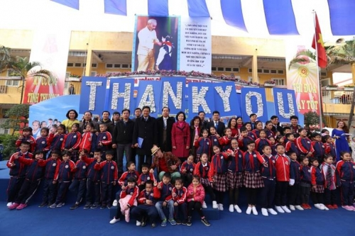 Sữa học đường ở Hà Nội: Lan tỏa niềm tin