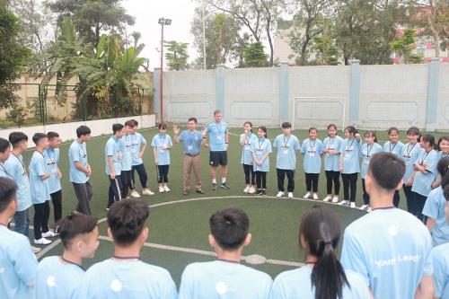 SHB và Manchester City tổ chức đào tạo Nhà lãnh đạo trẻ lần thứ 4