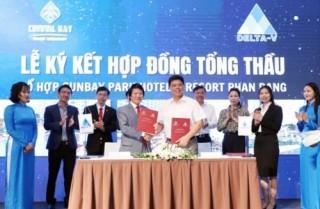 Tổ hợp nghỉ dưỡng hang đầu châu Á ký thỏa thuận tổng thầu và quản lý, giám sát