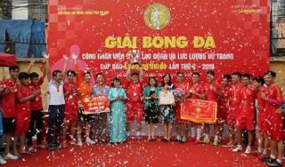 Cúp bóng đá Báo Lao động Thủ đô: Đội bóng Đại học Thuỷ lợi vô địch