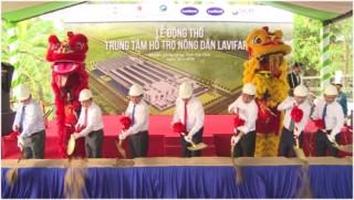 Xây dựng Trung tâm Hỗ trợ nông dân lớn nhất tại Trà Vinh