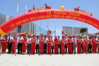 Trung Nam Group khánh thành tổ hợp điện gió, điện mặt trời tại Ninh Thuận