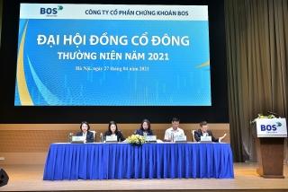 Đại hội đồng cổ đông BOS 2021: Đẩy mạnh chuyển đổi số, mục tiêu lãi 60 tỷ trước thuế