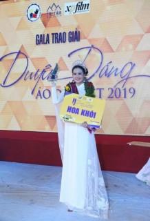 """Nhân viên HDBank đạt giải hoa khôi """"Duyên dáng áo dài Việt 2019"""""""