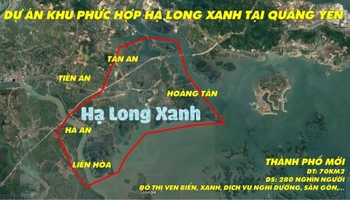 Đầu tư Dự án Khu đô thị phức hợp Hạ Long Xanh