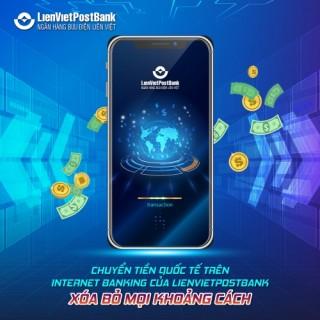 Chuyển tiền quốc tế qua Internet Banking