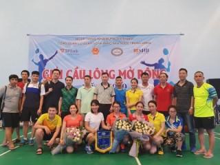 Giải Cầu lông mở rộng năm 2019 thành công tốt đẹp