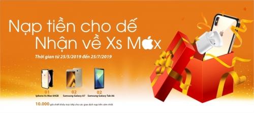 Cơ hội trúng iPhone Xs Max khi sử dụng ngân hàng điện tử SHB