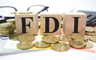 Giải ngân vốn FDI 5 tháng đạt 7,15 tỷ USD, tăng 6,7%