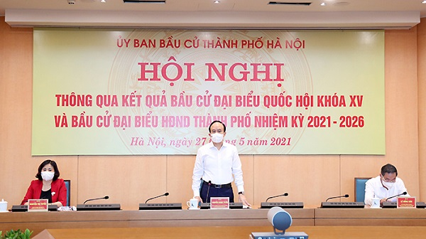 danh sach 95 dai bieu hdnd tp ha noi nhiem ky 2021 2026