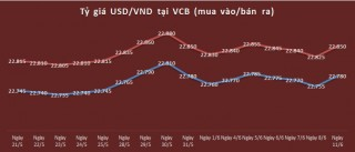 Tỷ giá ngày 11/6: Tỷ giá USD ngân hàng tiếp tục tăng nhẹ