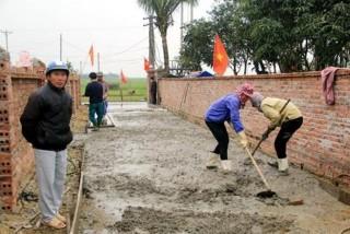 Chuyện xây dựng nông thôn mới ở Nghi Xuân