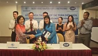 SaigonBank và CEP hợp tác phát triển tài chính vi mô