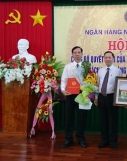 NHNN chi nhánh tỉnh Trà Vinh có người phụ trách mới