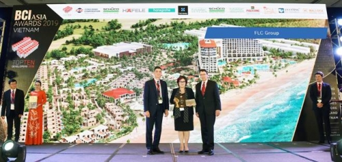 FLC lần thứ ba lọt Top 10 chủ đầu tư hàng đầu tại BCI Asia Awards