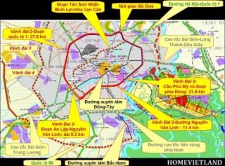 TP.HCM đẩy nhanh tiến độ thực hiện các dự án giao thông trọng điểm
