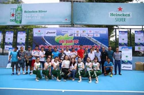 Giải Quần vợt tranh cúp Babolat & Heineken open Court 2019