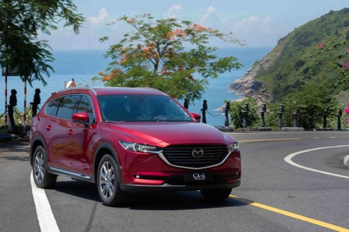 Thaco chính thức giới thiệu xe Mazda CX-8