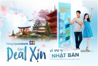 Chủ thẻ Sacombank JCB: Cơ hội đi Nhật và tận hưởng nhiều ưu đãi khi mua sắm