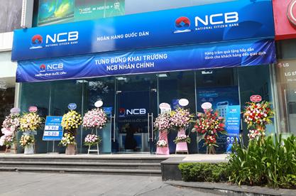 NCB khai trương phòng giao dịch Nhân Chính