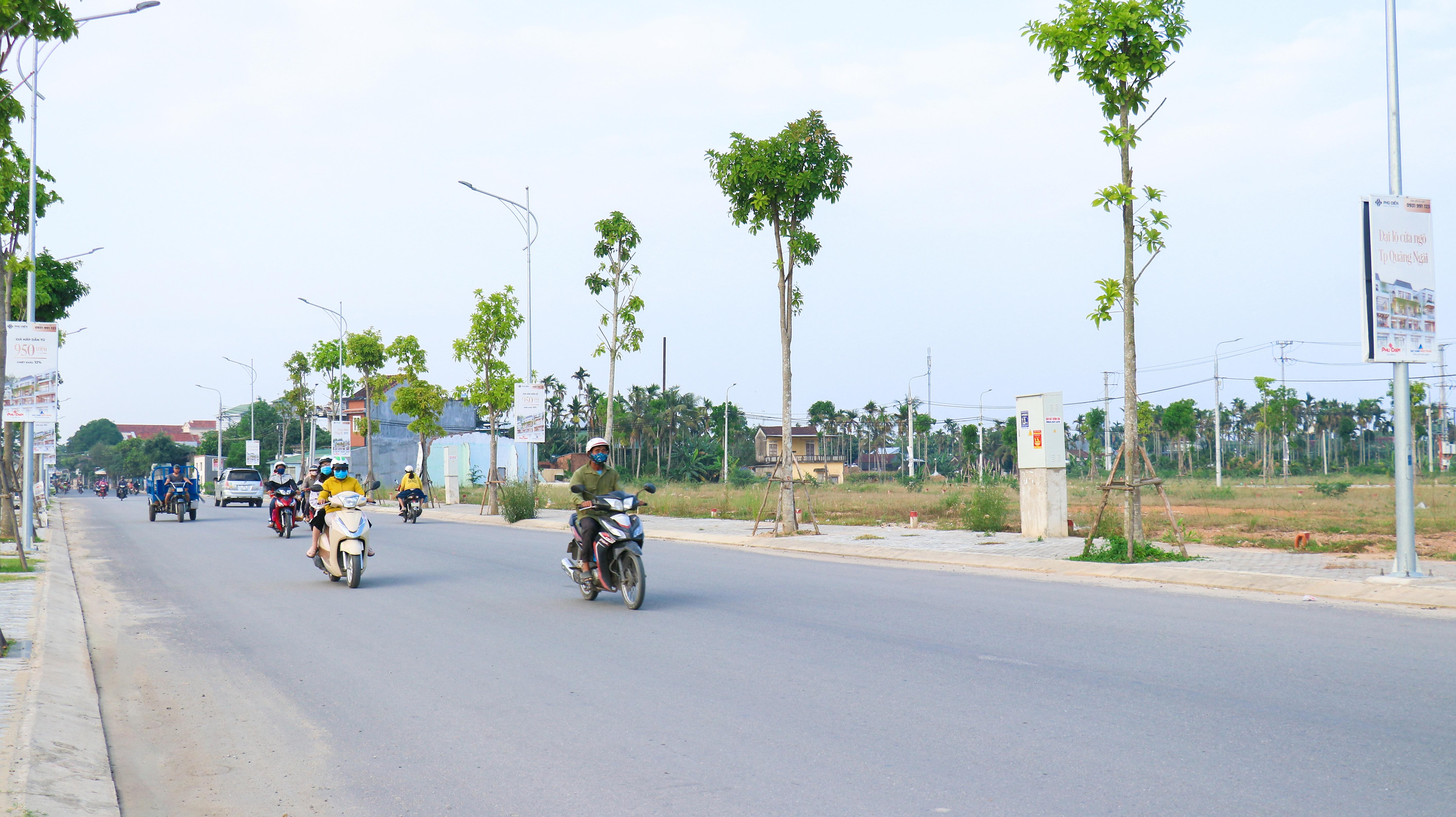 quang ngai quy hoach khu tai dinh cu moi doi dien du an phu dien residences