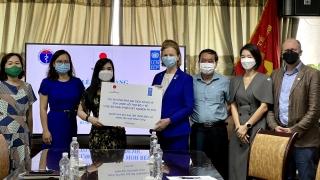 UNDP cung cấp hơn 1.500 bộ sinh phẩm xét nghiệm COVID-19 cho Việt Nam