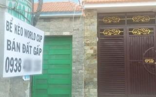 Nhà giá rẻ 'lướt' cùng World Cup