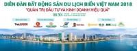 Diễn đàn bất động sản du lịch biển sẽ diễn ra đầu tháng 8