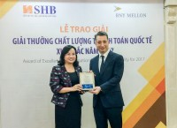 SHB 8 năm liên tiếp nhận giải STP Award