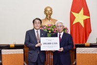 Việt Nam hỗ trợ Nhật Bản khắc phục hậu quả thiên tai