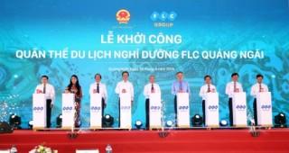 Tập đoàn FLC khởi công quần thể nghỉ dưỡng quy mô 1.026 ha tại Quảng Ngãi
