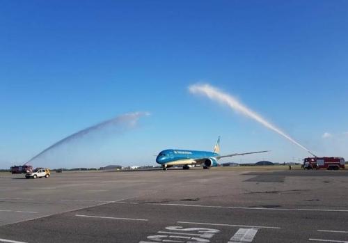 Vietnam Airlines khai thác các chuyến bay đi và đến Nga tại sân bay Sheremetyevo