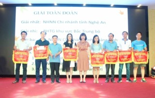 NHNN Nghệ An đoạt giải Nhất tại Hội thao Cụm thi đua 5