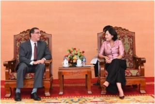 Phó Thống đốc Nguyễn Thị Hồng làm việc với Trưởng đại diện IMF