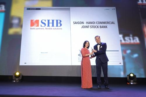SHB - doanh nghiệp có môi trường làm việc tốt nhất châu Á