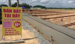 HoREA: Cần chấn chỉnh tình trạng phân lô bán nền trái pháp luật