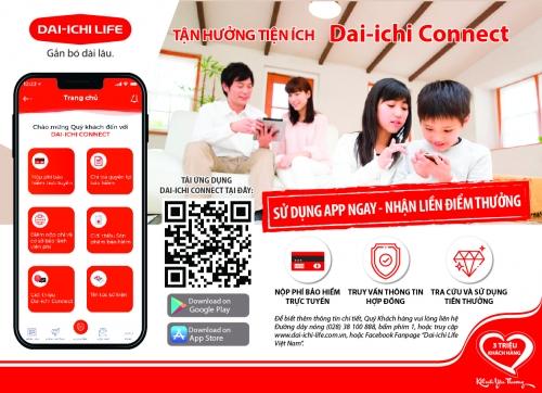 Dai-ichi Life Việt Nam ra mắt ứng dụng Dai-ichi Connect