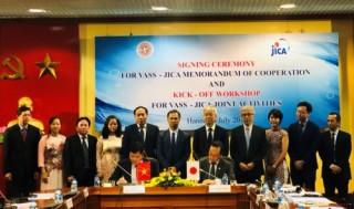 JICA và VASS hợp tác vì sự phát triển bền vững của Việt Nam