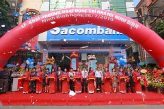 Sacombank khai trương chi nhánh tại Ninh Bình