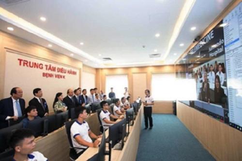 Công ty AIC hỗ trợ Bệnh viện K đưa Trung tâm điều hành thông minh vào hoạt động