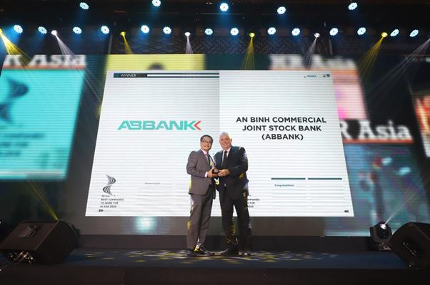 ABBANK - Nơi làm việc tốt nhất châu Á năm 2020