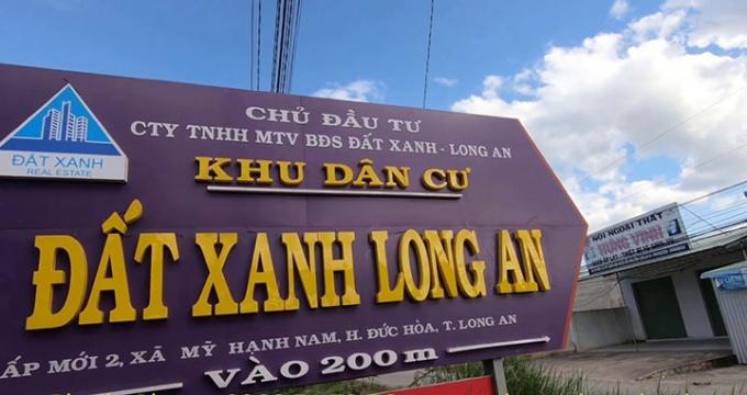 cong an tinh long an dieu tra doanh nghiep gia mao tap doan dat xanh