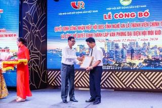 Ra mắt Văn phòng đại diện Hội Môi giới bất động sản tại Nghệ An