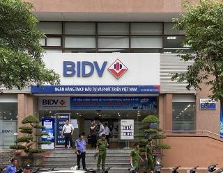 Hoạt động tại BIDV Chi nhánh Ngọc Khánh diễn ra bình thường