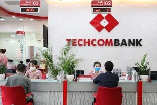 Techcombank hoàn thành 51,5%chỉ tiêu lợi nhuận cả năm