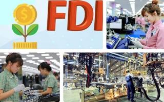 FDI 7 tháng 2021: Đăng ký giảm, giải ngân tăng