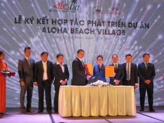 Thiên Minh và Việt Úc Group hợp tác phát triển dự án Aloha Beach Village